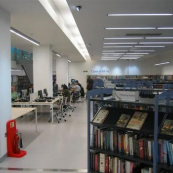 Newly Decorated Library