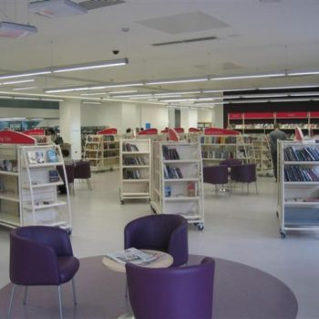 Decorated Library Room