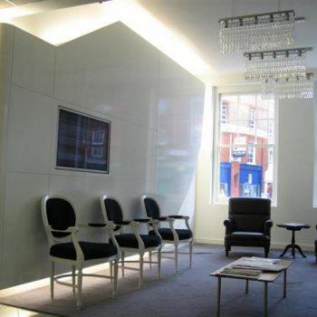 White Tiled Office